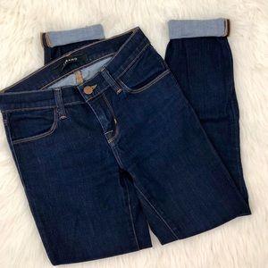 J Brand Starless Super Skinny Dark Wash Jeans 23
